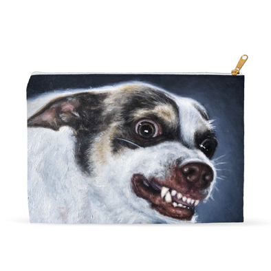 Mr. Bubz Portrait Accessory Pouch