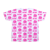 Mr. Bubz Sketch All Over Unisex Shirt (Pink)
