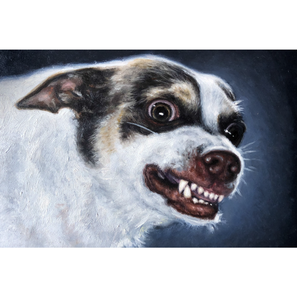 Mr. Bubz Portrait Print