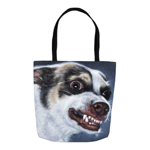 Mr. Bubz Portrait Tote Bag