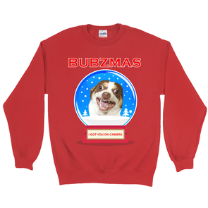 Mr. Bubz Snow Globe Sweatshirt