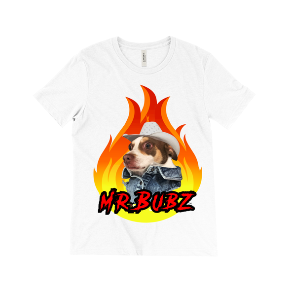 Mr. Bubz Bad Boy Unisex Triblend Shirt