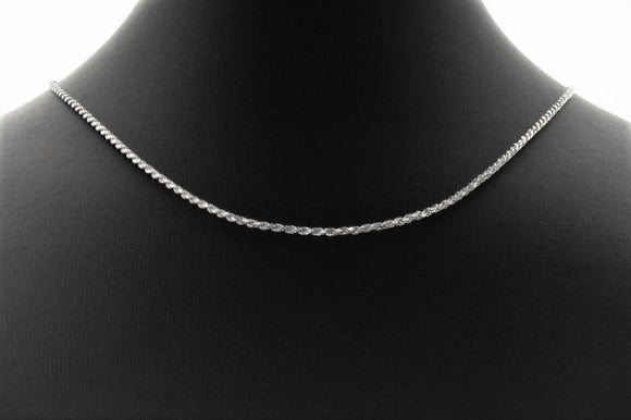 Sterling Silver .035 Rope Chain Necklaces