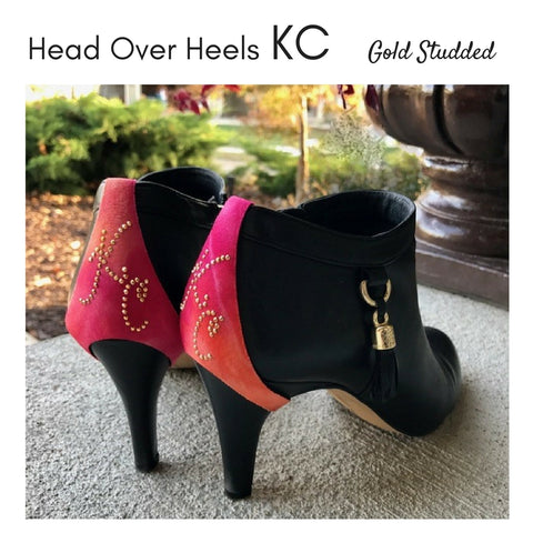 Head over Heels KC - Gold Studded