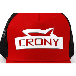Crony Stamped cap (Red/White)