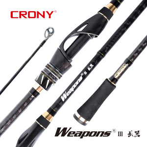 Crony Weapons III Spin/Baitcast (Inside,Outside) NEW 2020 MODEL