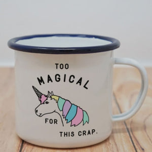 Enamel Mugs - Magical Unicorn