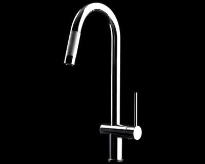 GESSI Kitchen Sink Mixer Oxygen Hi-Tech 00910