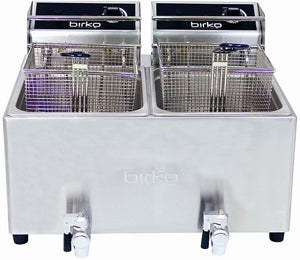 Birko 1001004 Fryer double 8L