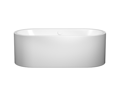 Kaldewei 01-1128-06 1800mm Freestadning Meisterstuck Centro Duo Oval Bath with Overflow