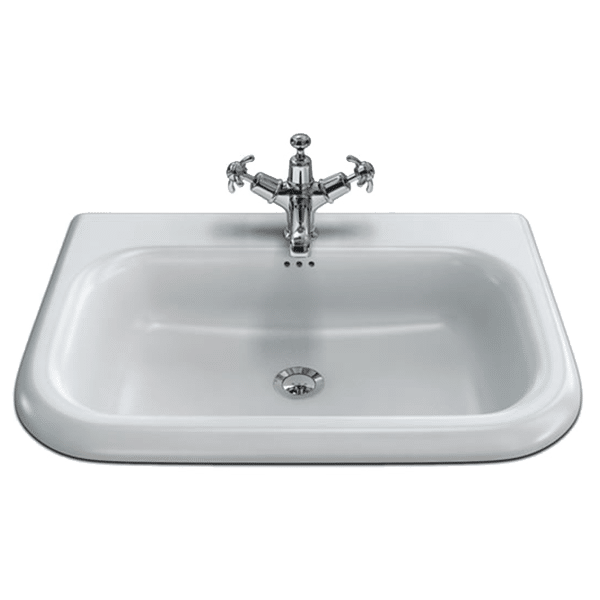 Gareth Ashton 132107 Provincial Classic Basin with Stainless Steel Stand