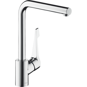 Oliveri 14802003 Hansgrohe Cento Square L Right Angle Mixer