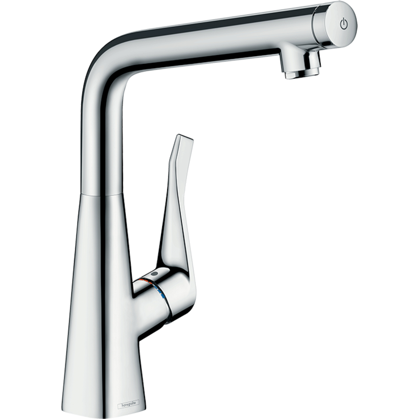 Oliveri 14883003 Hansgrohe Metris Select 320 Right Angle Mixer