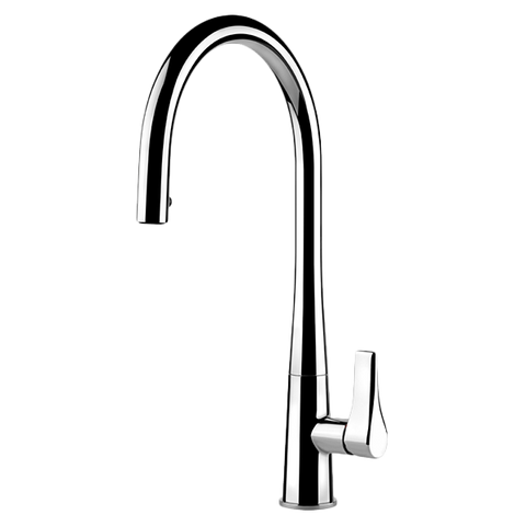 Gessi 17153 Proton Concealed Chrome Kitchen Mixer with Pull-out