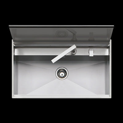 Barazza 1LLB90 LAB & B_FREE 86cm Inset Sink With Cover