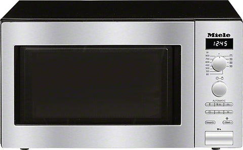Miele M 6012 Clean Steel Benchtop Microwave Oven