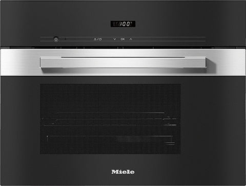 Miele DG 2840 PureLine Clean Steel Generation 7000 Built-in Steam Oven