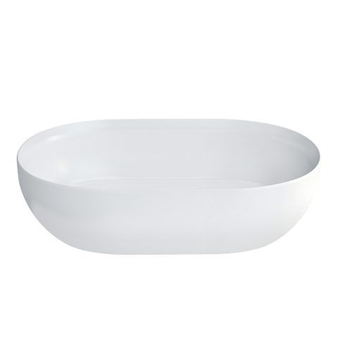 Gareth Ashton 22898 Byron Clearstone Gloss Basin with Matching Stone Waste