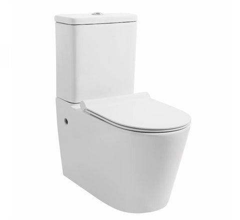 Zumi MB-015 Mezio Washdown Rimless Two Pieces Wall Faced Toilet Suite