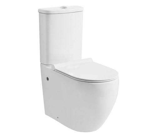 Zumi MB-16 Donna Washdown Rimless Two Pieces Wall Faced Toilet Suite