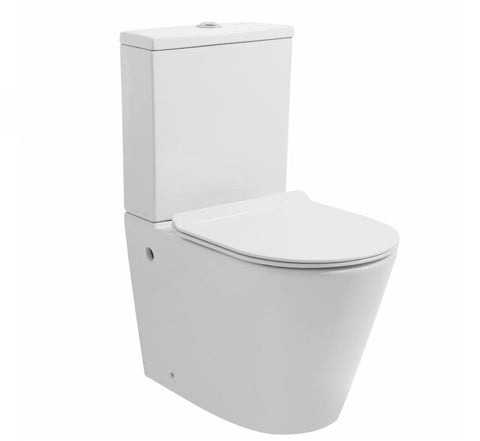 Zumi MB-021 Sandra Washdown Rimless Two Pieces Wall Faced Toilet Suite