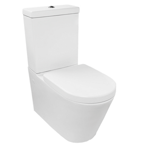 Gareth Ashton 371348 Park Avenue Mark II Wall Faced Toilet Suite with Thick Soft Closed Seat