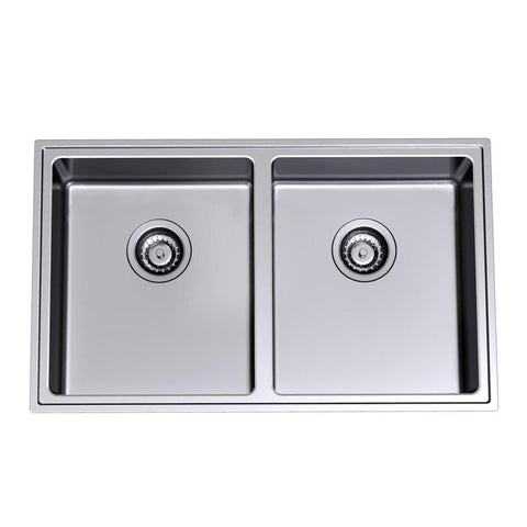 Compass CO0200 Double Bowl kitchen Sink