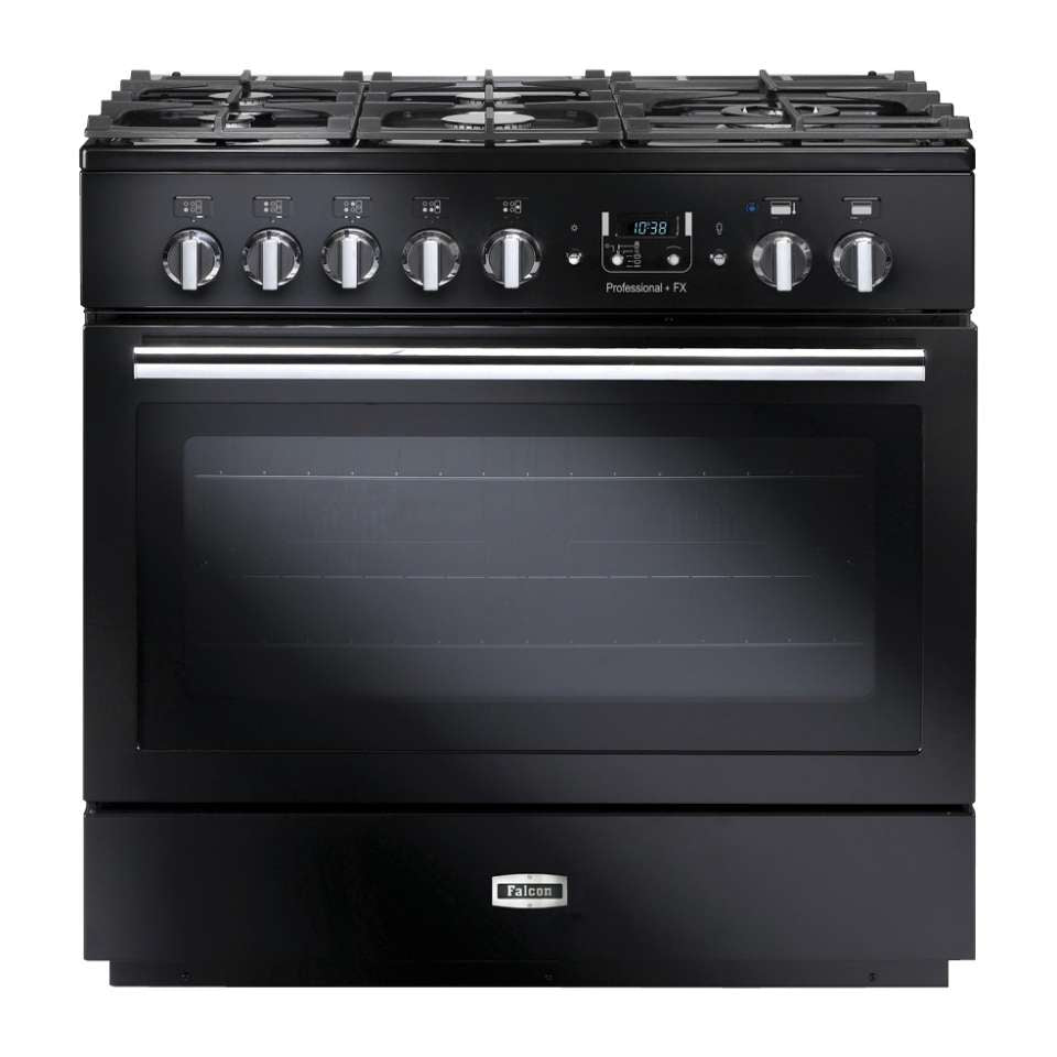 Falcon PROP90FXDF Professional + FX 90cm Upright Dual Fuel Cooker