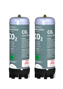 Zip 91295 Kit CO2 Replacement - 2 x Disposable Cylinders