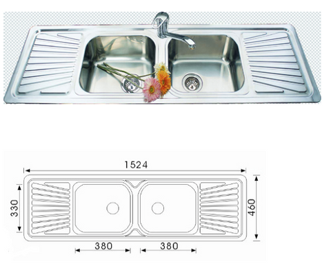 Unique Tandi Stainless Steel Sink DH-450SF