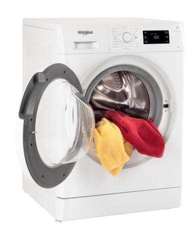 Whirlpool FDLR80210 8Kg FreshCare Front Loader Washing Machine