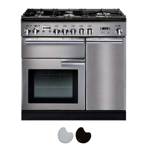 Falcon PROP90DFF/CH Professional + 90cm Upright Dual Fuel Cooker