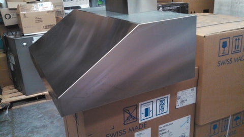 Qasair VC900-1 Custom Made Canopy Stainless Steel
