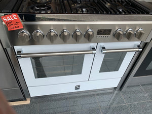 Steel G10SF-6W OT Genesi Range Combi-Steam with Gas Burners Upright Cooker