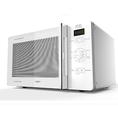 Whirlpool MWC25WH Crisp N' Grill 25L White Microwave