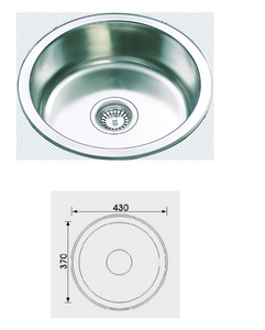 Unique Rondo Stainless Steel Sink RH-219S
