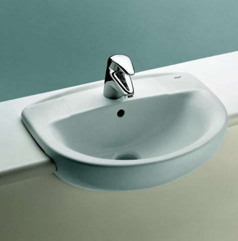 Roca  3-27391/1 Polo semi recessed basin 1TH