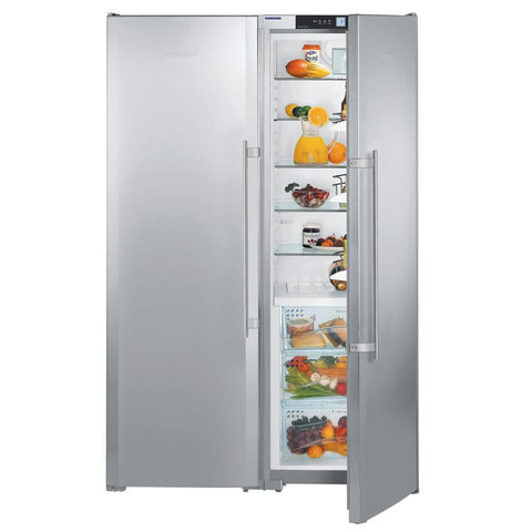 Liebherr SBSes 7253 Side By Side Combination Fridge with BioFresh and NoFrost FLOOR STOCK