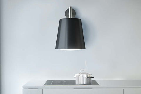 Sirius SLT 105 LAMP Valentina Collection Wall Mounted Black Pendant Light Only
