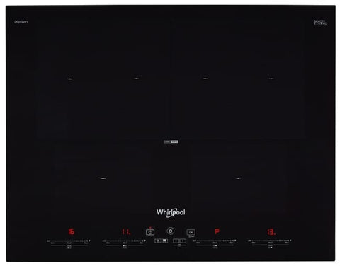 Whirlpool SMO654OFBTIXL 6TH SENSE FlexMaxi 65cm 4 Zone Induction Cooktop
