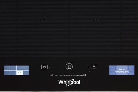 Whirlpool SMP658CNEIXL 6TH SENSE FlexiFull 65cm 8 Zone Induction Cooktop