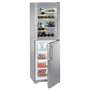 Liebherr SWTNes 3010 Combined Fridge with Wine Compartment and NoFrost
