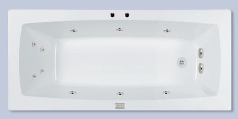 Lanark Tara 1675mm Rectangle Spa
