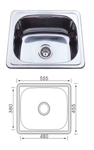 Unique YH-235NB Yakka 35L Inset Tub