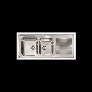 ABEY ZE175L/R ZENITH Stainless Steel Inset Sink