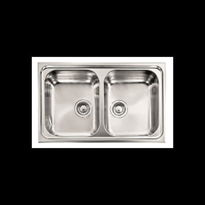 ABEY ZE2 ZENITH Stainless Steel Inset Sink
