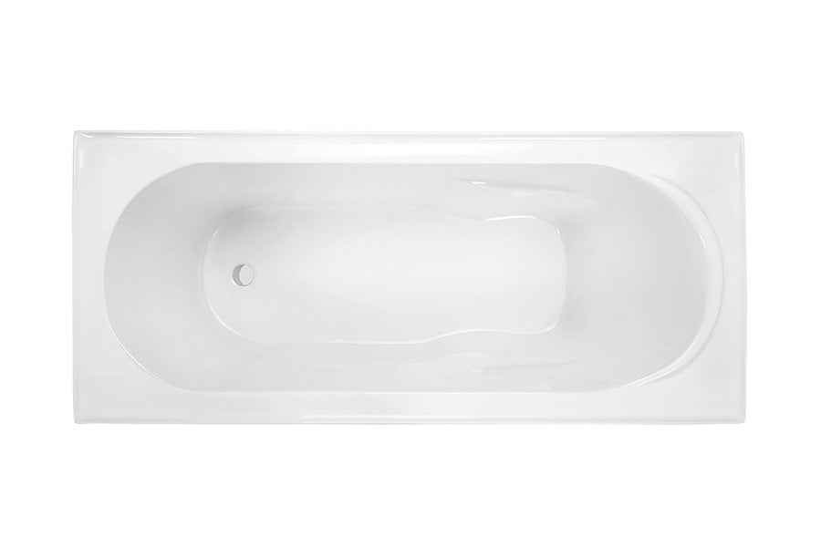 Decina AD1650W Adatto 1650mm Inset Spa Bath