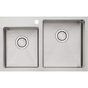 Oliveri AP1416 Apollo 1 & 3/4 Offset Bowl Sink