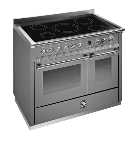 Steel A10FF-6I Ascot Range 100cm Multi Function Upright Cooker with 5 Induction Zones