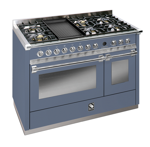 Steel A12SF-6B OT Ascot Range Combi-Steam Upright Cooker with 1 Wok & 1 BBQ Grill Plate